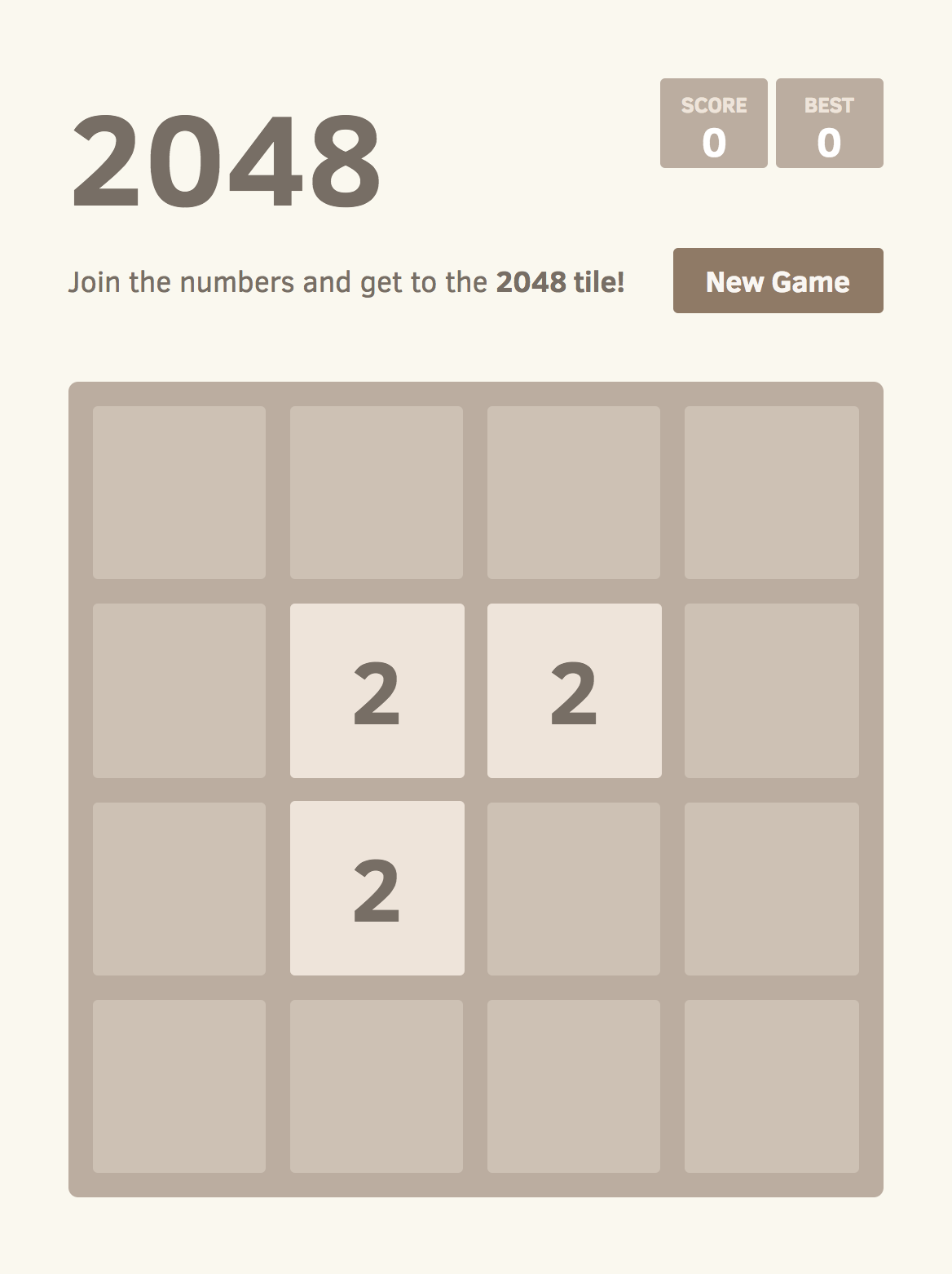 The Mathematics of 2048: Counting States with Combinatorics